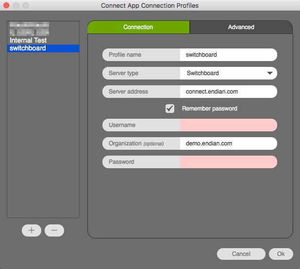 Endian Cloud - Connect App – Endian