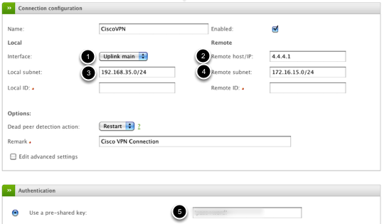 IPSec VPN - How to Create a Net-to-Net Connection (Endian